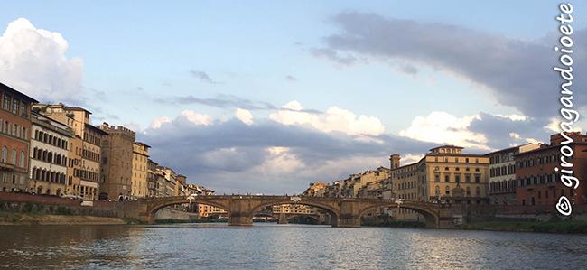Firenze - gita sul barchetto dei Reniaioli