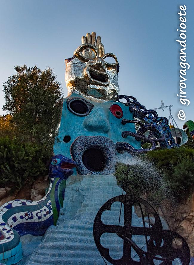 Il Giardino dei Tarocchi- l'arte che fa riflettere anche i bambini