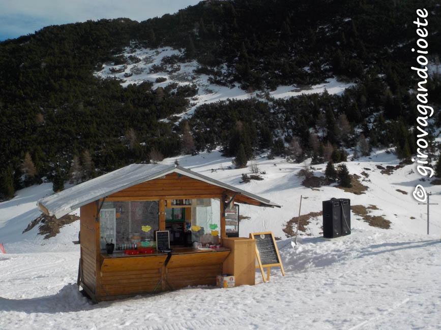 Sciare ad Andalo - malga Terlaga