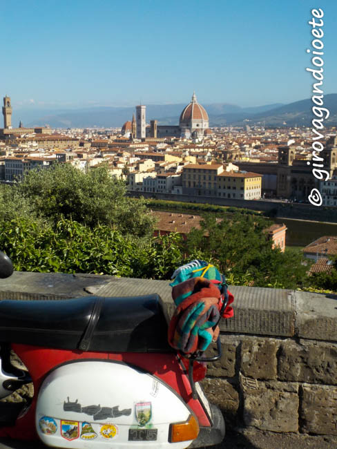 in Vespa fino ai Bagni di Cetica - partenza dal Piazzale Michelangelo-2