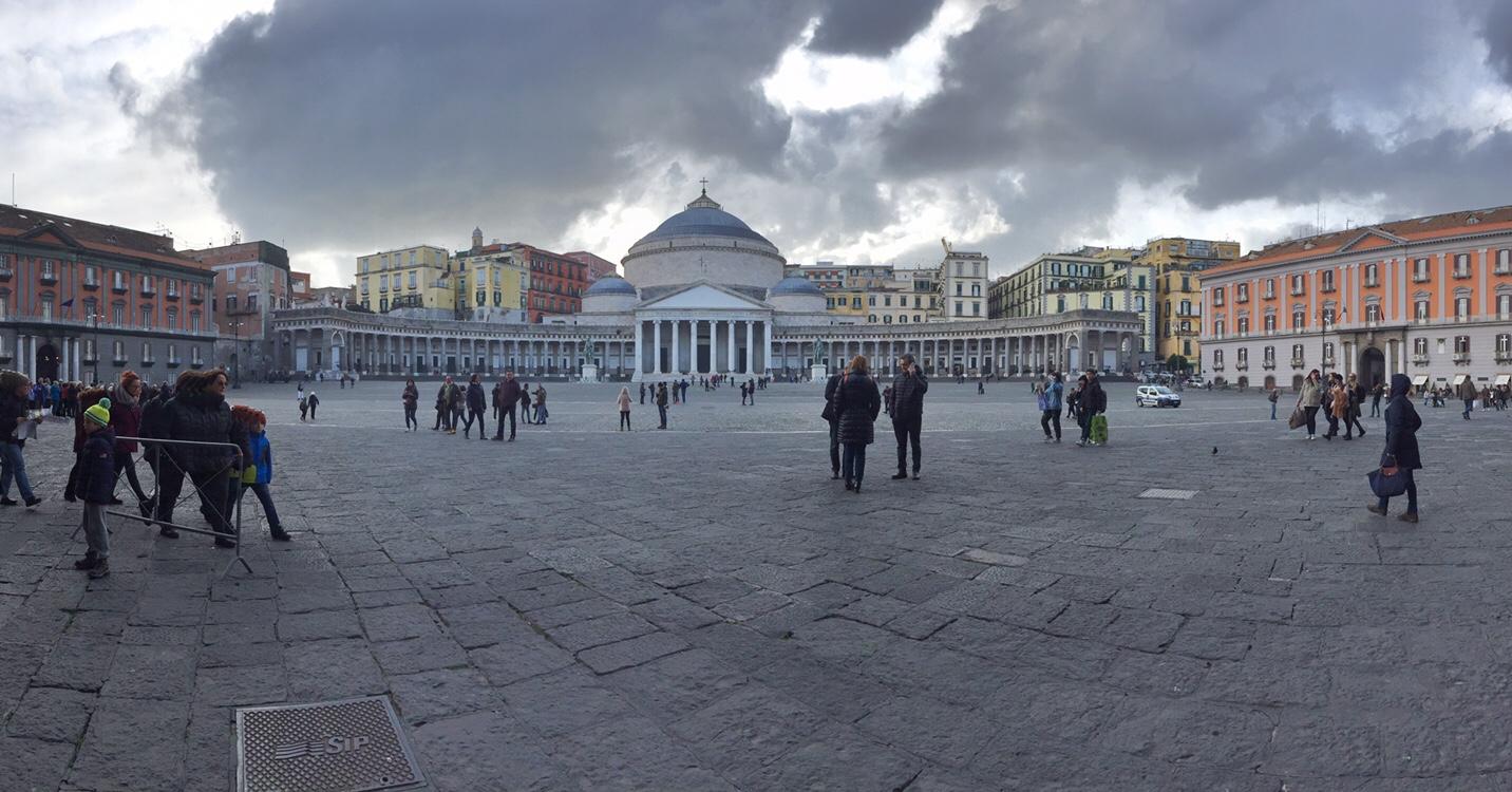 Weekend a Napoli - Piazza Plebiscito