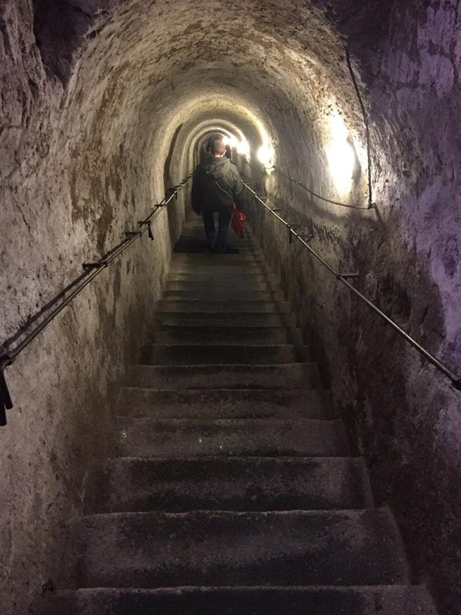 Visitare Napoli Sotterranea - ingresso
