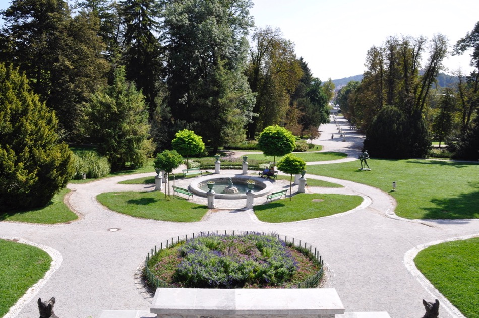 Parco Tivoli Lubiana capitale della Slovenia