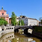 Piazza Preseren - Lubiana capitale della Slovenia